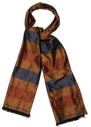 Hermes Striped Silk Stole