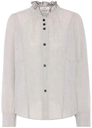 Etoile Isabel Marant Isabel Marant, Étoile Melphine wool blend blouse