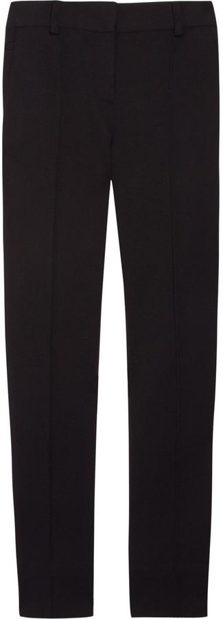 Diane von Furstenberg Dixy twill straight-leg pants