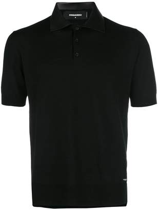 DSQUARED2 fitted polo shirt