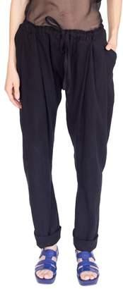 SIMPLE BY TRISTA Linen & Cotton Drop Crotch Pants
