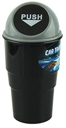 Rubbish Alotm Portable Mini Home Office Car Waste Garbage Trash Can Vehicle Traveling Plastic Dust Holder Car Bag