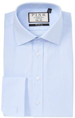 Thomas Pink Winston Royal Oxford Slim Fit Dress Shirt
