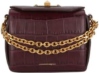 Alexander McQueen Embossed Box Bag 16