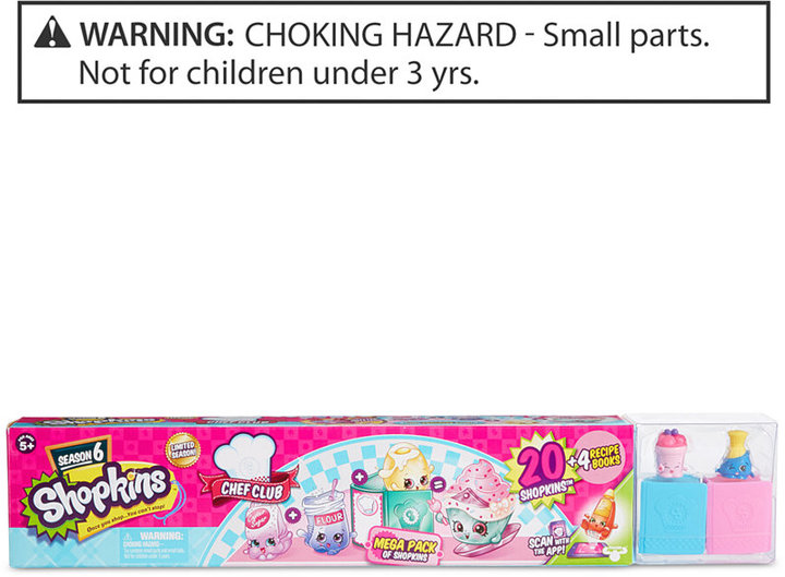 Shopkins Season 6 Chef Club Mega Pack