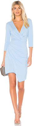 Bobi Draped Modal Jersey Dress