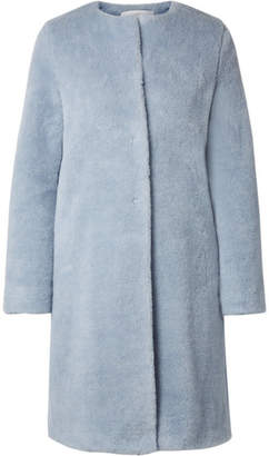 Harris Wharf London Alpaca And Wool-blend Coat - Blue