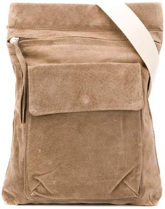 BEIGE Hender Scheme flap pocket messenger bag