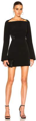 Dion Lee Mesh Stripe Mini Dress