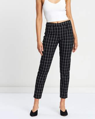 Wallis Window Check Trousers