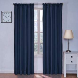 Eclipse Curtains Eclipse 10707042X084DE Kendall 42-Inch by 84-Inch Thermaback Blackout Single Panel