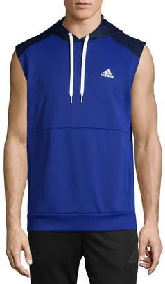 adidas Team Issue Sleeveless Fleece Hoodie
