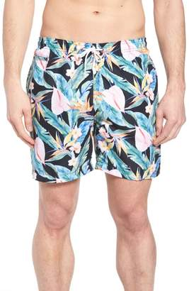 Trunks Surf & Swim Co. Floral Print Swim