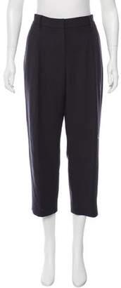 Brunello Cucinelli Virgin Wool Cropped Pants