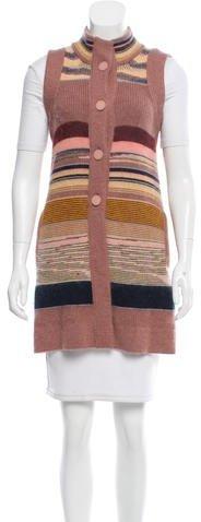 MissoniMissoni Wool Longline Vest