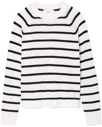 Striped Breton Linen Tops Shopstyle