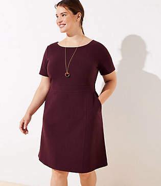 LOFT Plus Pocket Sheath Dress