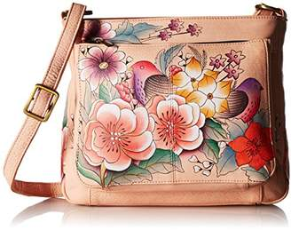 Anuschka Anna by Hand Painted Leather Women's Shoulder Bag