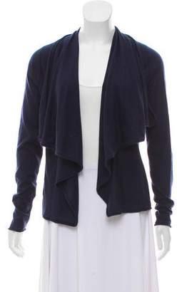 Ralph Lauren Knitted Ruffle-Accented Cardigan