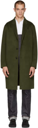 Acne Studios Green Chad Coat