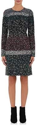 J. Mendel WOMEN'S SILK EMBELLISHED SHIFT DRESS