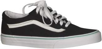 Vans Womens Old Skool Low Top Lace Up Fashion, Black/Florida Kys, Size 10.0