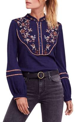 Free People Sundance Kid Western Henley