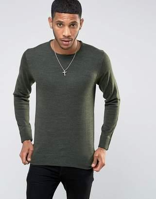 Brave Soul Basic Knit Sweater