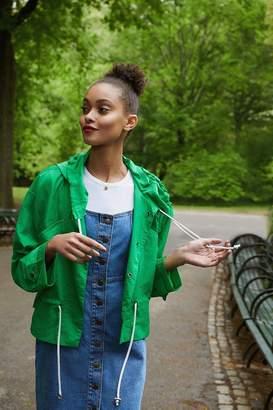 Urban Outfitters Nylon Drawstring Anorak Jacket