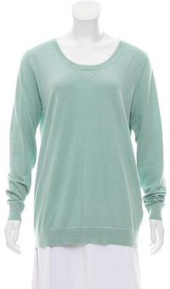 Allude Lightweight Cashmere-Blend Sweater