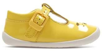 Clarks Girls Yellow Roamer Star T Shoe - Yellow