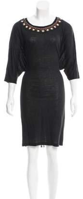 Megan Park Oversize Embellished Dress