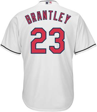 Majestic Men's Cleveland Indians Michael Brantley Cool Base Replica MLB Jersey