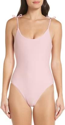 Ted Baker Ottino Velvet One-Piece Swimsuit