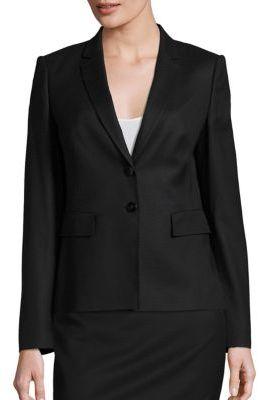 BOSS Jiwina Blazer $595 thestylecure.com