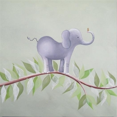 Elephant on a Vine