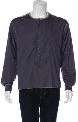 Dolce & Gabbana Longline Henley T-Shirt w/ Tags