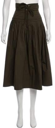 Ulla Johnson Pleated Midi Skirt