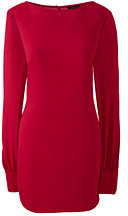 Lands' End Women's Tall Long Sleeve Tunic-Rich Sapphire $89 thestylecure.com