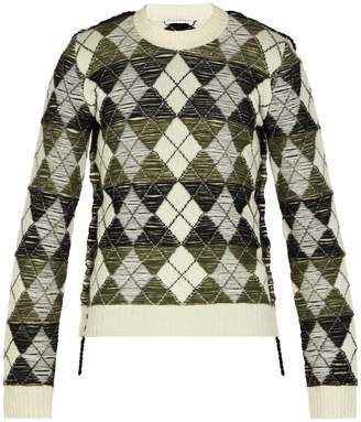 J.W.Anderson Argyle wool sweater