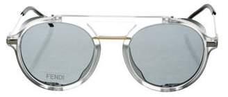 Fendi Round Tinted Sunglasses