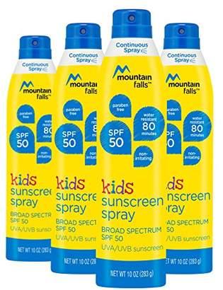 Mountain Falls Kids Sunscreen Continuous Spray
