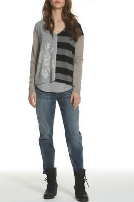 LABEL+thread LABEL + thread Luxe Rose Cashmere Top
