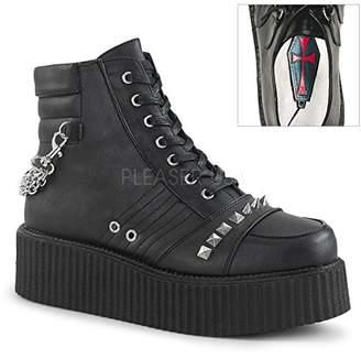 Demonia Men's V-CREEPER-565 Sneaker
