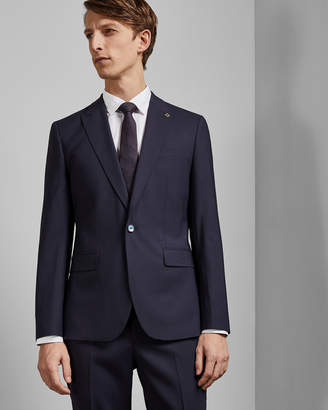 Ted Baker MOTHJ Debonair skinny stripe wool jacket