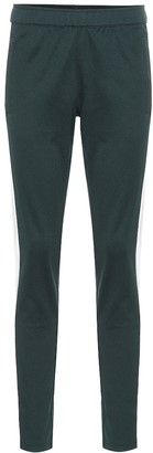 Tory Sport Cotton-blend jersey trackpants