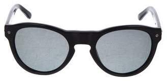 Rag & Bone Polarized Round Sunglasses