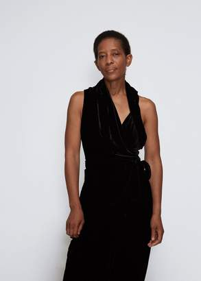 Rick Owens Velvet Limo Maxi Dress