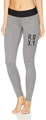 Roxy Junior's Fields of Gold Legging Workout Pant