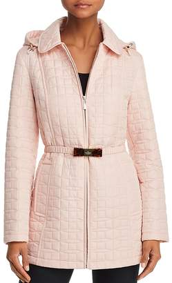 Kate Spade Bow Quilted Coat